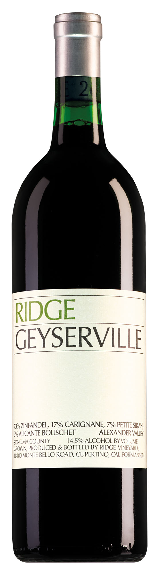 Ridge Alexander Valley Geyserville Zinfandel