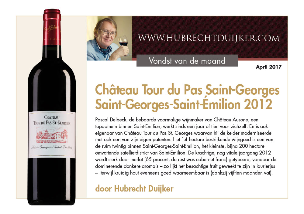 Chateau Tour De Pas St Georges