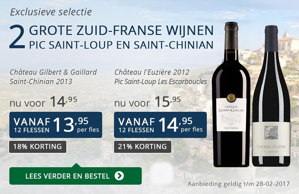 Exclusieve wijnen februari 2017 - blauw
