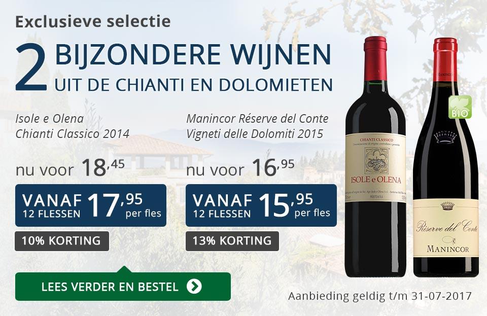 Exclusieve wijnen juli 2017 - blauw
