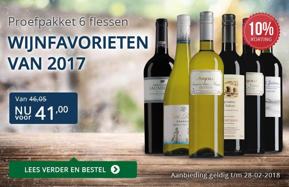 Proefpakket wijnfavorieten 2017 - blauw