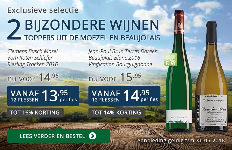 Exclusieve wijnen mei 2018- blauw