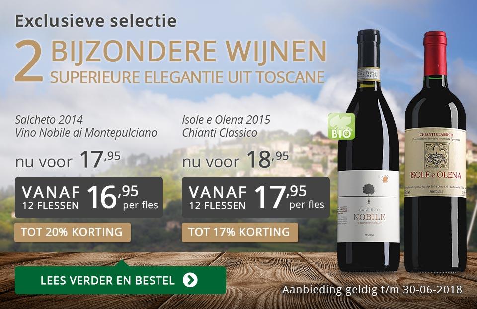 Exclusieve wijnen juni 2018 - grijs/goud
