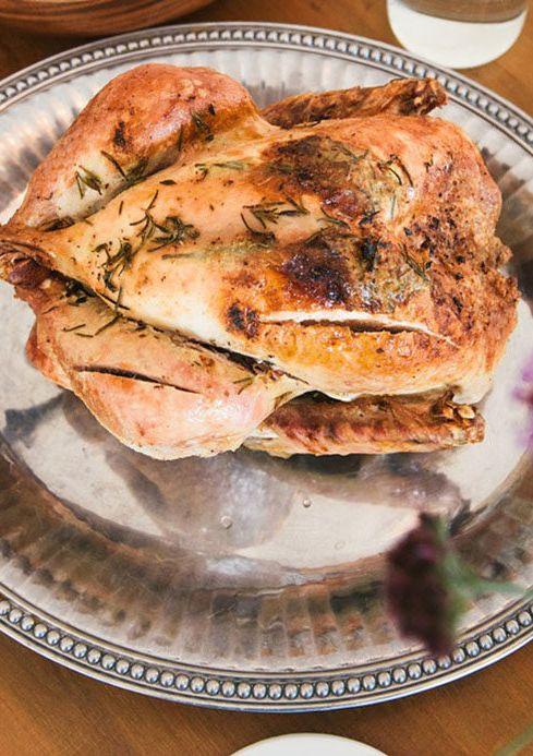 Geroosterde duif op Provençaalse wijze