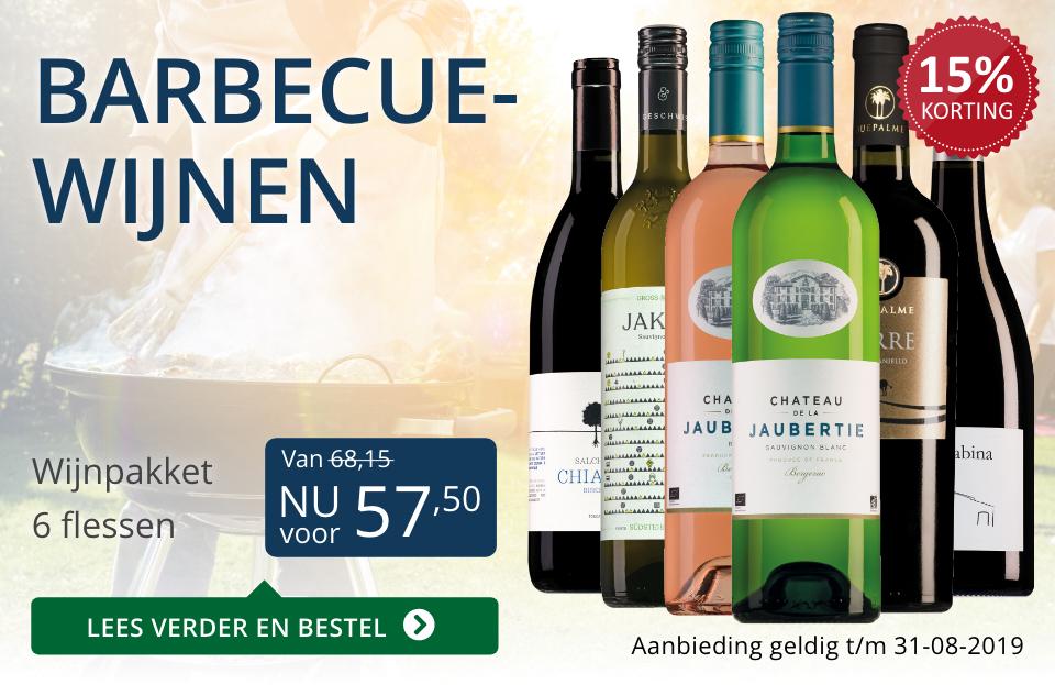 Wijnspecial Wijnpakket barbecuewijnen (57,50) - blauw
