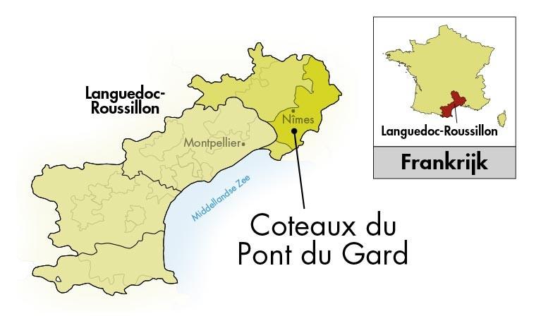 Château Mourgues du Grès Pont du Gard Fleur d'Aubépine