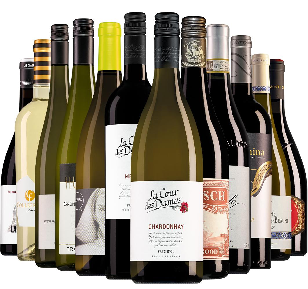 Wijnpakket Wijnbericht januari (12 flessen)