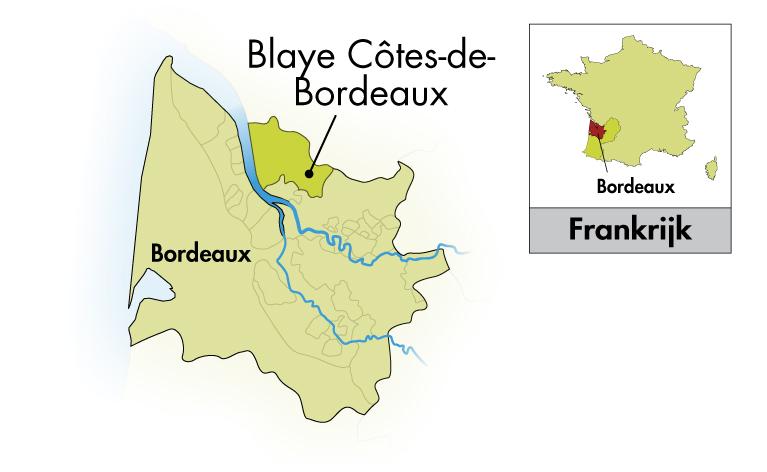 Château Cap Saint-Martin Blaye Côtes de Bordeaux