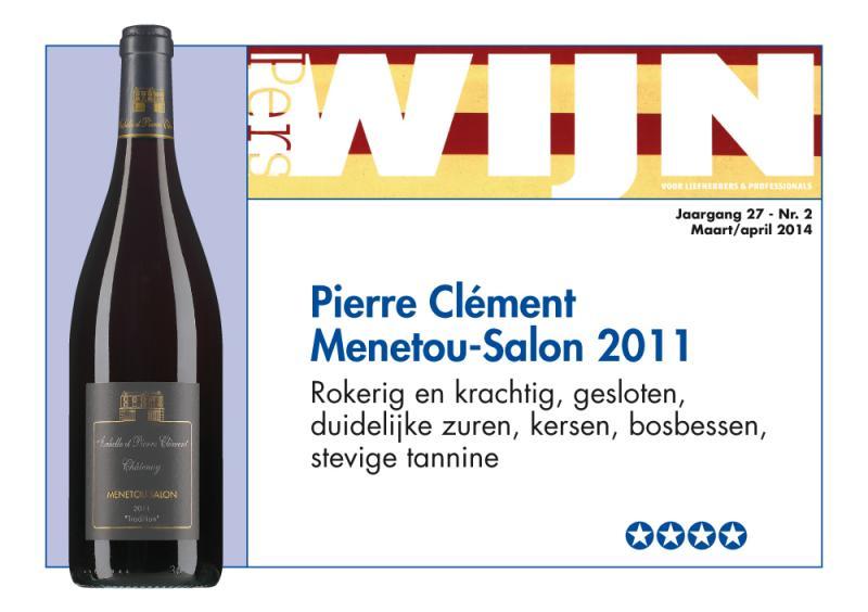 Pierre cl ment menetou salon rood 2015 wijnhandel schaapveld for Menetou salon clement